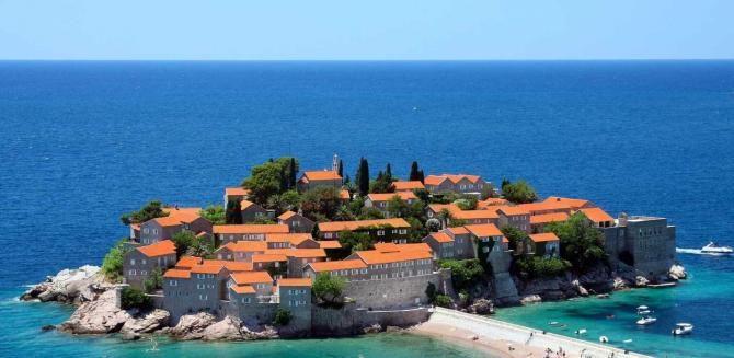 Vizesiz Karadağ Tatili #karadağ #Montenegro #SvetiStefan