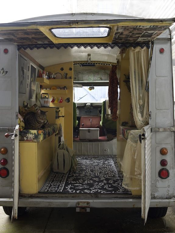 Secret Space: An Exclusive Peek Inside Emily Chalmers' Caravan - The Chromologist