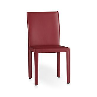 Elegant Folio Bonded Leather Dining Chair   Ash Color Or The White