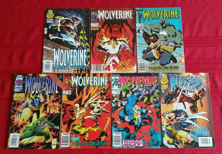 from $4.99 - 7 Vintage 1980's & 1990's Wolverine #Comic Books By #Marvel