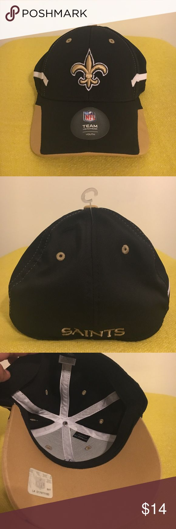 "New Orleans Saint youth ball cap New.Who Dat ""Who Dat"" NFL new youth cap NFL Accessories Hats"