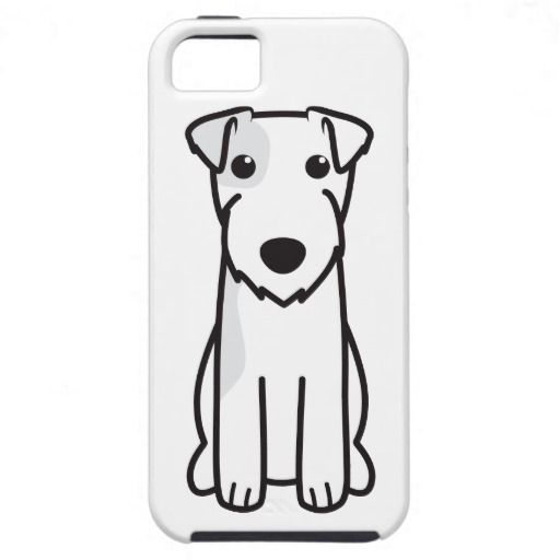 Parson Russell Terrier Dog Cartoon iPhone 5 Covers