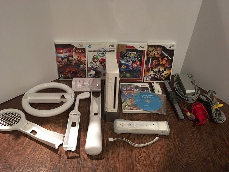 Nintendo Wii now on!  #ebay #ebayseller #ebayreseller #thriftstorefinds #thrifting #thrift #thrifted #thriftfinds #thriftshop #thriftstore #sell #resell #nintendo #mario #wii #nintendowii #game #gaming #gamer #lego #legostarwars #legopirates