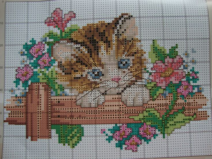 Point de croix -m@- cross stitch