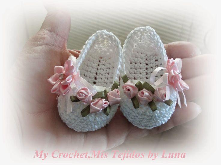 Resultado de imagen para zapatos de bebe recien nacida en verano ...