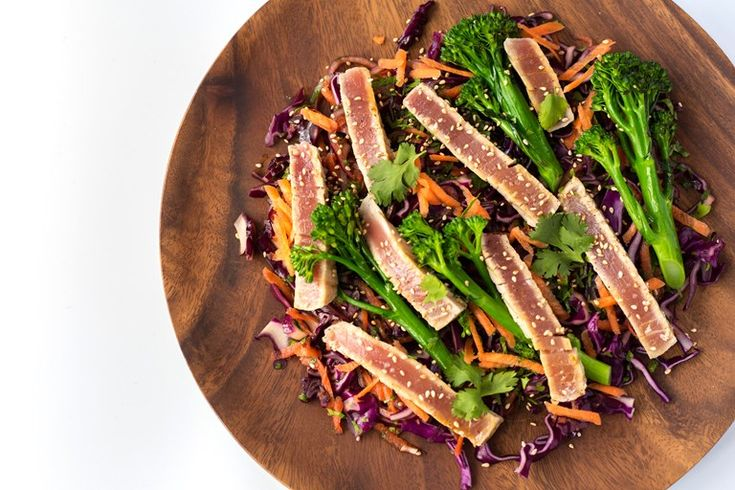 Adam Gray's grilled tuna steaks recipe makes a quick yet impressive midweek meal.