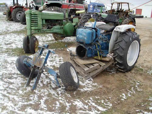 Ford Backhoe Salvage Parts : Ford tractor salvaged for used parts new rebuilt