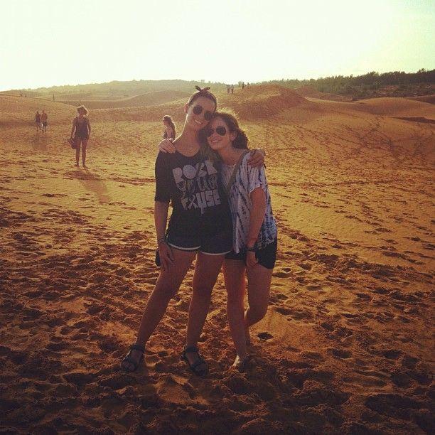 Mui Ne Sand Dunes #rockyourcause