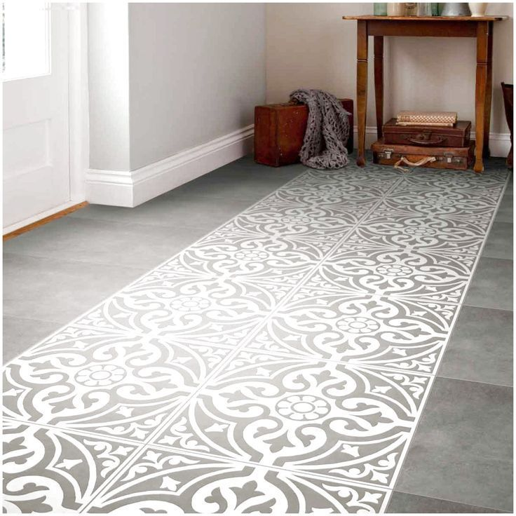 A Traditional Looking Gray Patterned Floor Tile With A Subtle Floor Gray Patterned Subtle Tile Tradit In 2020 Patterned Floor Tiles Tile Bedroom Ceramic Floor