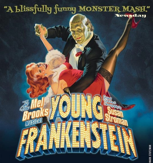 Young Frankenstein was brilliantly turned into a musical by the great Mel Brooks. Highly recommended.: Broadway Music, Music Ives, Mel Brooks, Music Mad, Books Jackets, Theatre Geek, Young Frankenstein Music, Fun, Tv Film Theatre