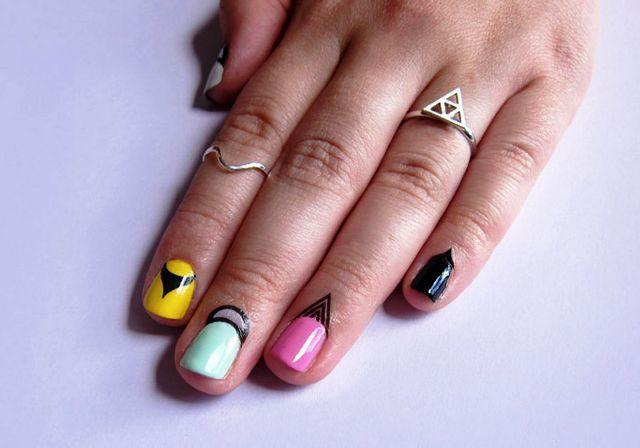 маникюр на широкие короткие ногти - Поиск в Google