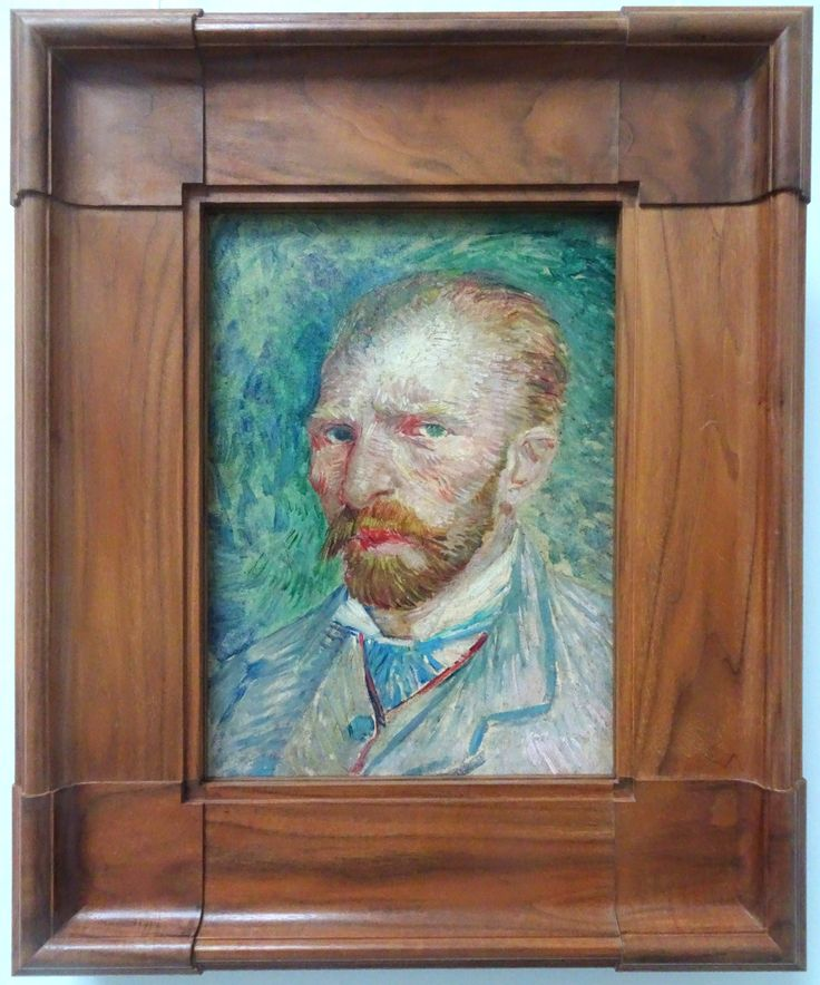 Hoge Veluwe - Museum Kröller-Müller. Vincent van Gogh (1853/1890) - 'Zelfportret' - 1887 - olieverf op doek. Foto: G.J. Koppenaal - 30/8/2017.