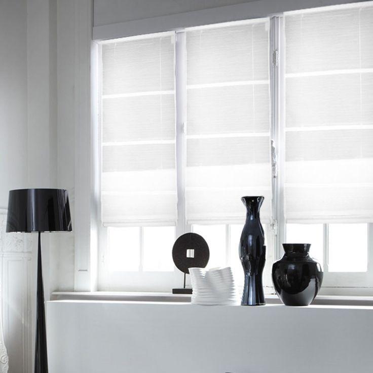 17 meilleures id es propos de rideaux rayures sur pinterest rideaux blancs noirs rideaux. Black Bedroom Furniture Sets. Home Design Ideas