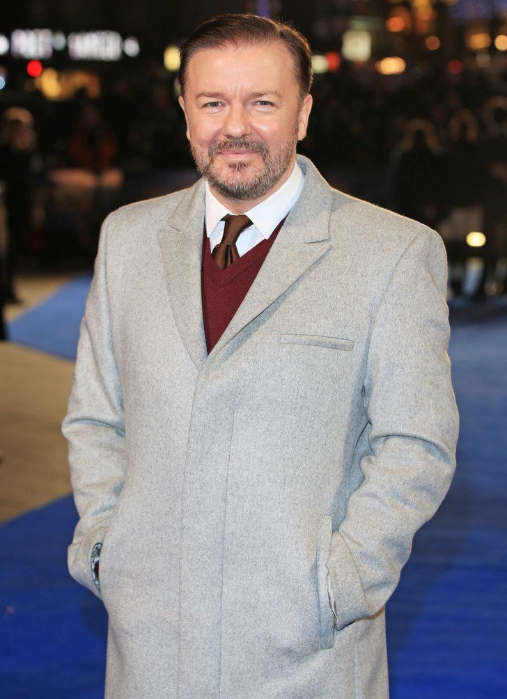 Pin for Later: There's a Good Chance Your Celebrity Crush Is a Golden Globe Presenter Ricky Gervais Former Golden Globes host Gervais will come by to razz the audience.
