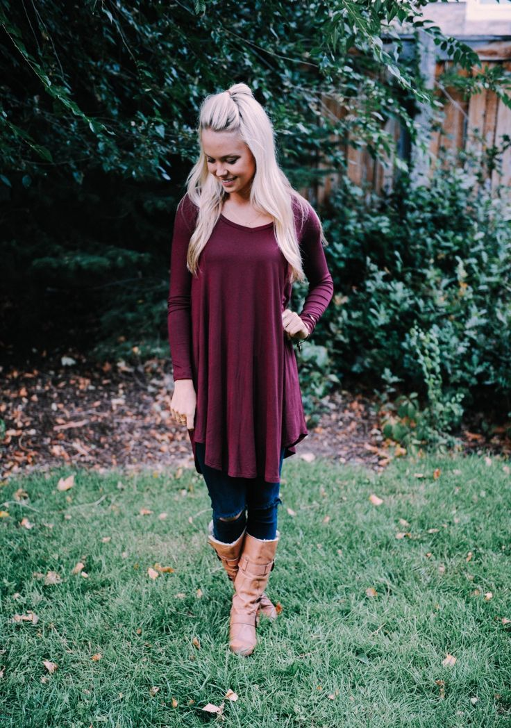 Feel great and look even better in our new Flattering Fall Tunic.