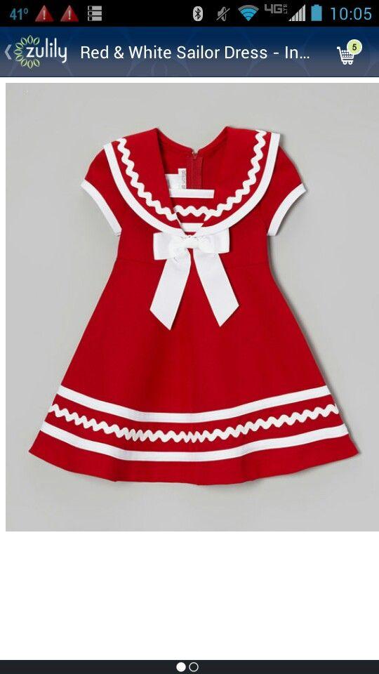 Love this sailor dress!