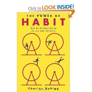 3.3.13 halfway through this library book and know it will be one I will buy.  Incredibly fascinating look at the science behind habits.  It's been a long time since I had trouble putting down a non-fiction book!  I've been talking about it nonstop.  cmk