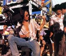 the brave johnny depp - He directed this flick and also starred in it with Marlon Brando 1997