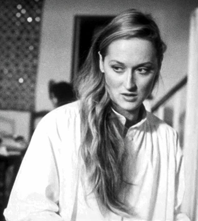 Meryl Streep in Manhattan, 1979