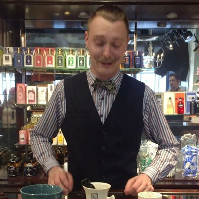 Nathan showing us how he makes a Shaving Cream lather quickly and with ease. Classic shaving doesn't have to be a lengthily process (if you don't want it to be). Kent of Inglewood Silvertip Badger Brush - $89  Kent of Inglewood Shaving Mug - $39 (half price with the purchase of a brush)