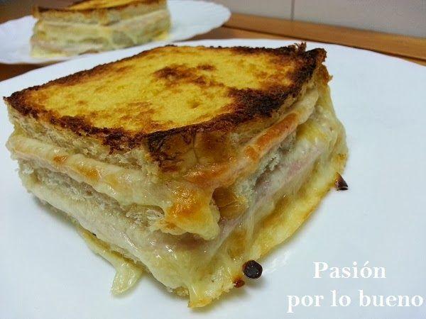 Cocina y Bienestar: Sandwiches al horno en salsa de mostaza