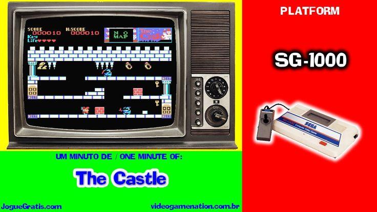 The Castle, SG-1000, ASCII. 1986 #retrogaming #sega #sg-1000 #mastersystem
