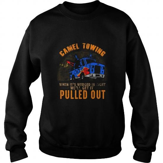 I Love funny camel tow truck t shirt Shirts & Tees