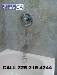 Orangeville bathtub shower installation. #OrangevillePlumbing http://licensedplumbers.ca/orangeville-plumber-bathroom-renovation.html