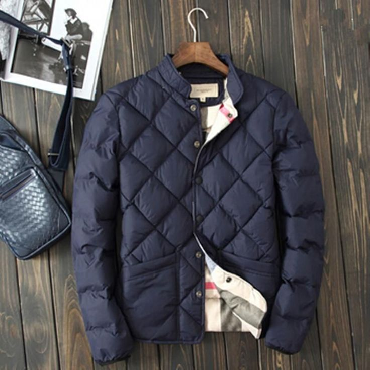 Warm Padded Men's Winter Jacket #WinterBucketList