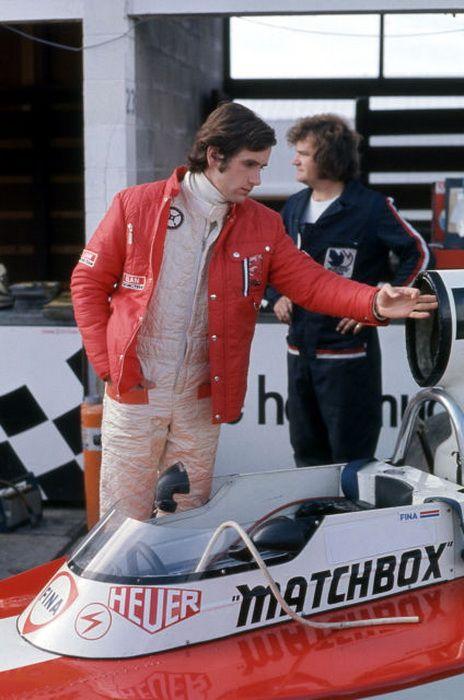 Helmut Koinigg Team Surtees TS16
