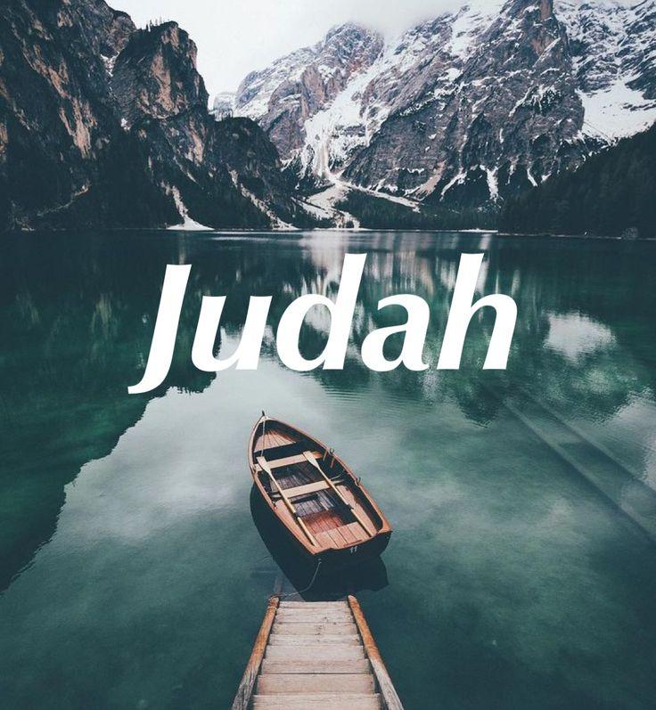 Judah. Boy baby names. Male names. Strong biblical boy names. Christian, unique, uncommon.