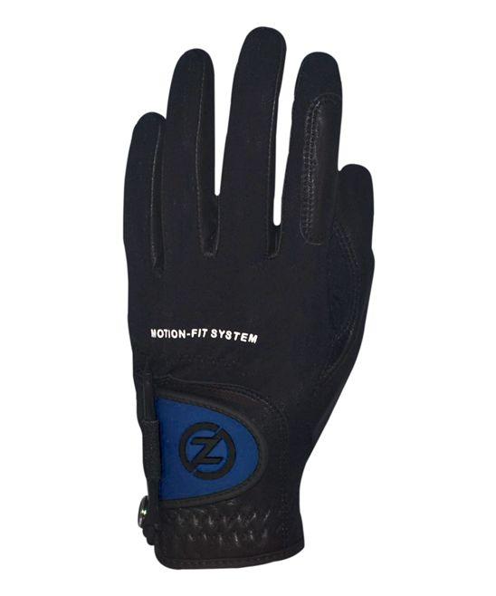Black & Blue Johnny Miller Motion-Fit Left-Hand Golf Glove - Men