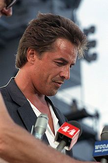 Don Johnson is from Wichita - He and his family lived around the block from me when we were kids.  His younger brother was friends with my older sister! lol! :) Don is older than me, but we went to the same High School...Wichita South High School! :)