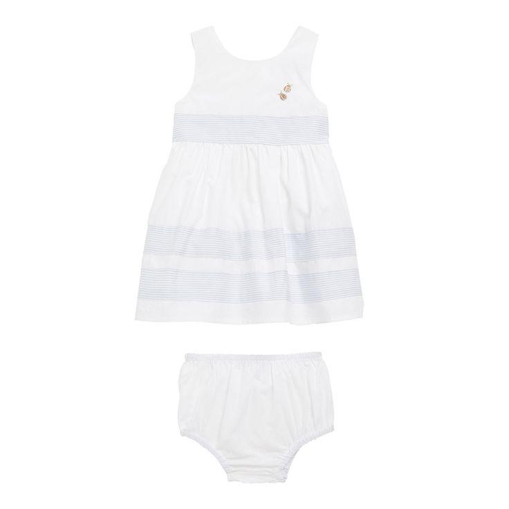 Robe chasuble fille 3 à 24 mois blanc Sergent Major Ijailys | Sergent Major