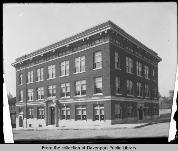 Telephone Building, Circa 1912-1920. Located At 6th And