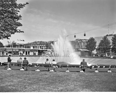 International Fountain at World's Fair, 1962