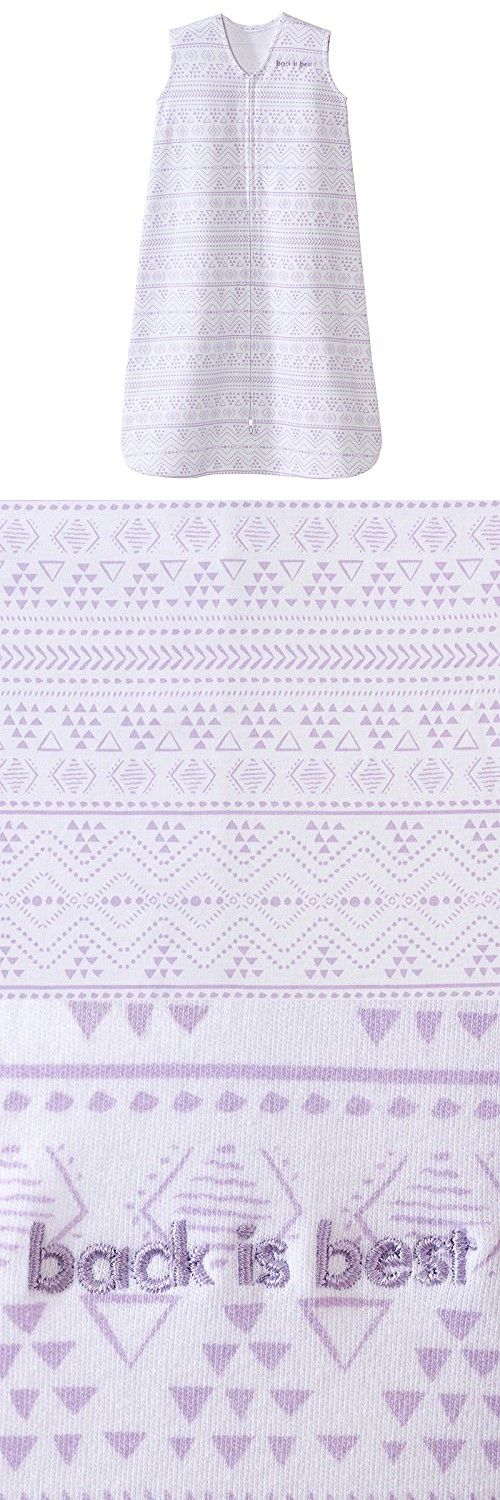 Halo Sleepsack, 100% Cotton, Aztec, Lilac, Small