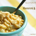 Gluten and diary Free Macaroni and Cheese