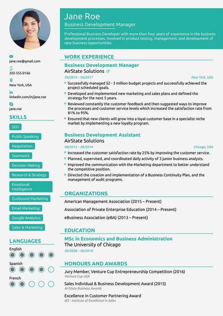 8  best online resume templates of 2019  download