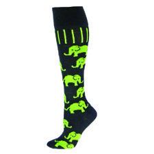 The Joy of Socks - Neon Green Elephants Knee Socks (Medium), $10.45 (http://www.joyofsocks.com/neon-green-elephants-knee-socks-medium/)