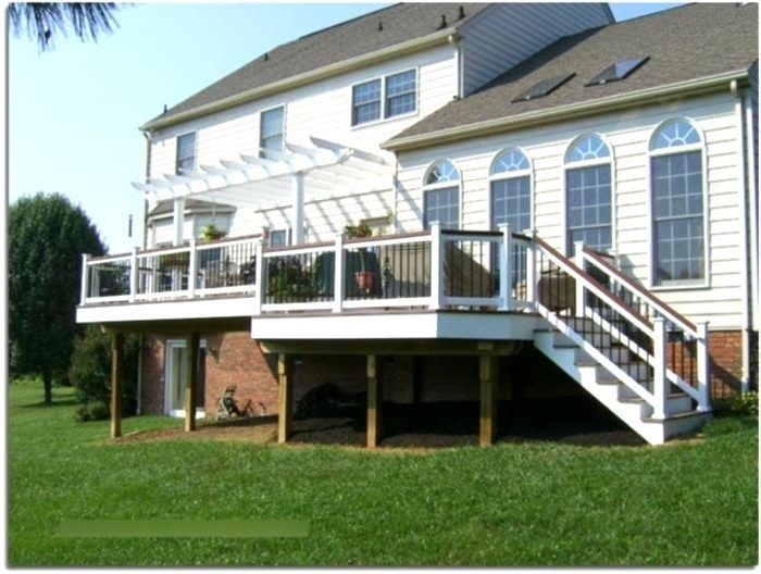 Black Composite Deck Railing – Deck Railing Designs