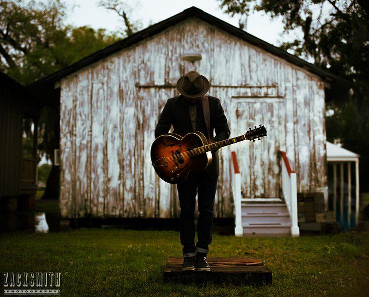 Photograohy of musician Seth Walker at Los Islenos, St. Bernard, LA.— ZACK SMITH PHOTOGRAPHY