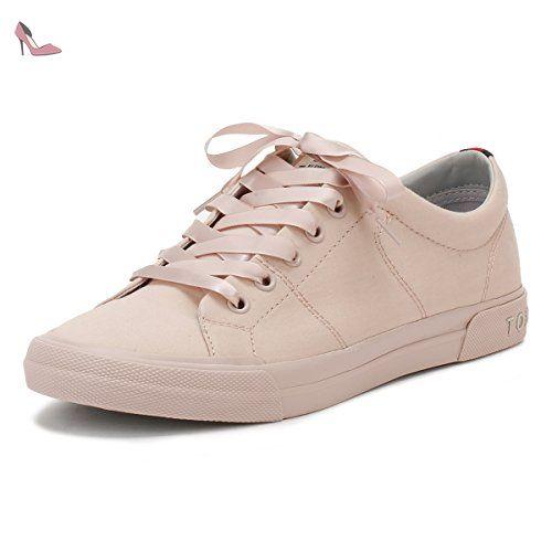 S1285EBILLE 3C2, Sneaker Col Roulé Femme, Gris (Light Grey), 40 EUTommy Hilfiger