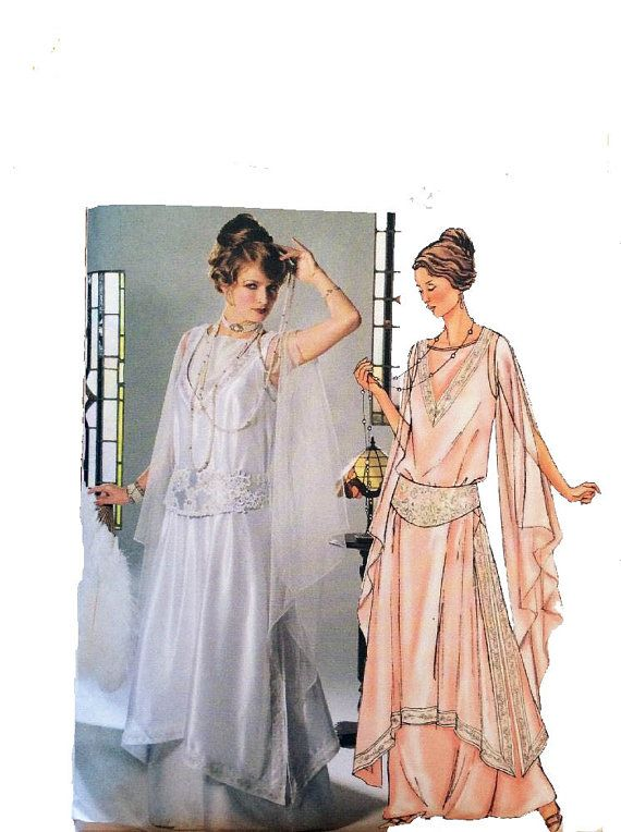 Flapper style dresses patterns