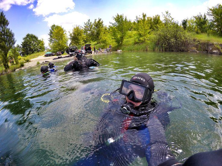 Diving in Ukraine