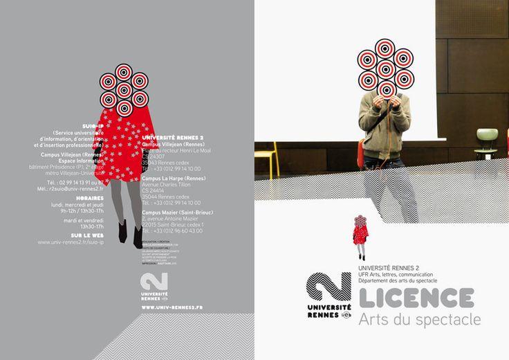 Séverine Lorant – Identity for the University of Rennes 2
