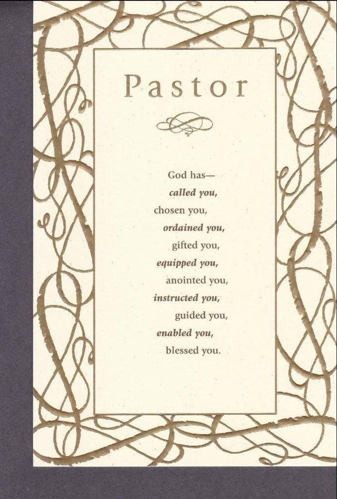 Christian Birthday Greeting Card, Pastor #DaySpring #PastorsBirthday