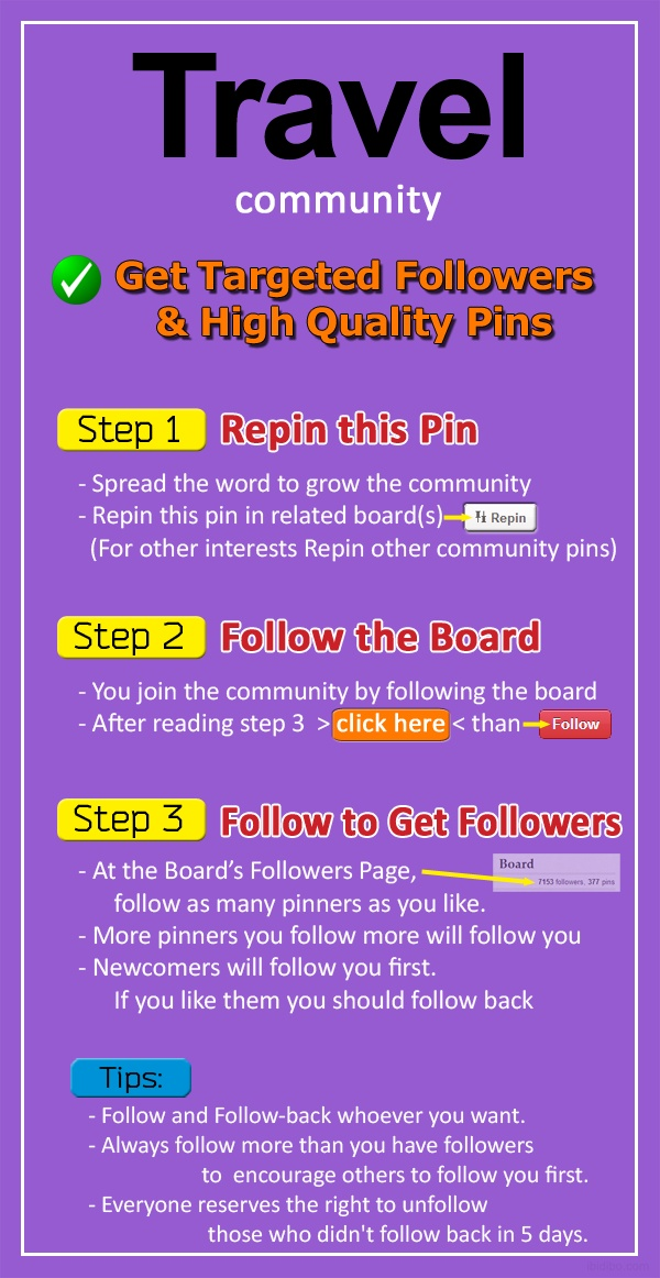 how to get followers without follow for follow
