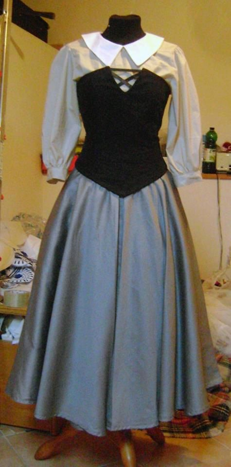 Aurora dress Sleeping beauty disney Briar Rose by liliemorhiril