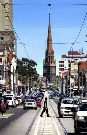 Visitors to Melbourne